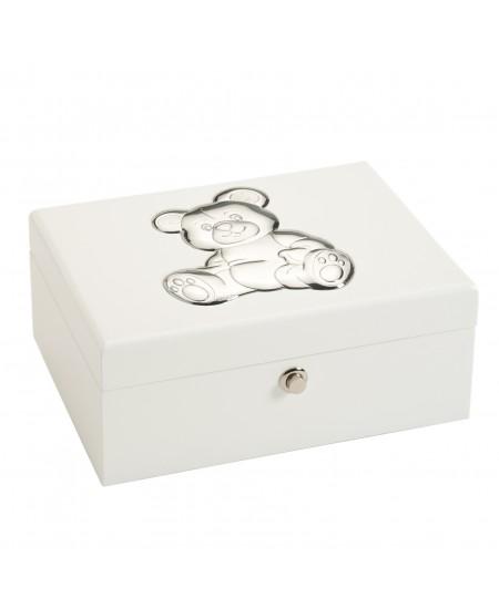 2ef92962edf0 Caja joyero madera lacada blanca